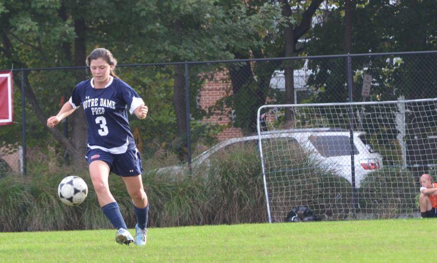 Gabby Burns, Defender, Varsity Soccer NDP 2013