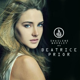Shailene Woodley- actress for Beatrice (Tris) Prior from Divergent