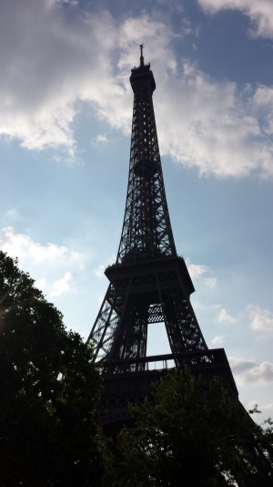 The Eiffel Tower continues to remind the world of French strength and culture.
