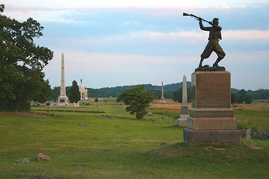 Sophomores In Gettysburg
