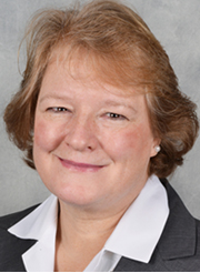 Susan Aumann, a graduate of NDP who serves as a member of the Maryland House of Delegates, poses for a head shot.