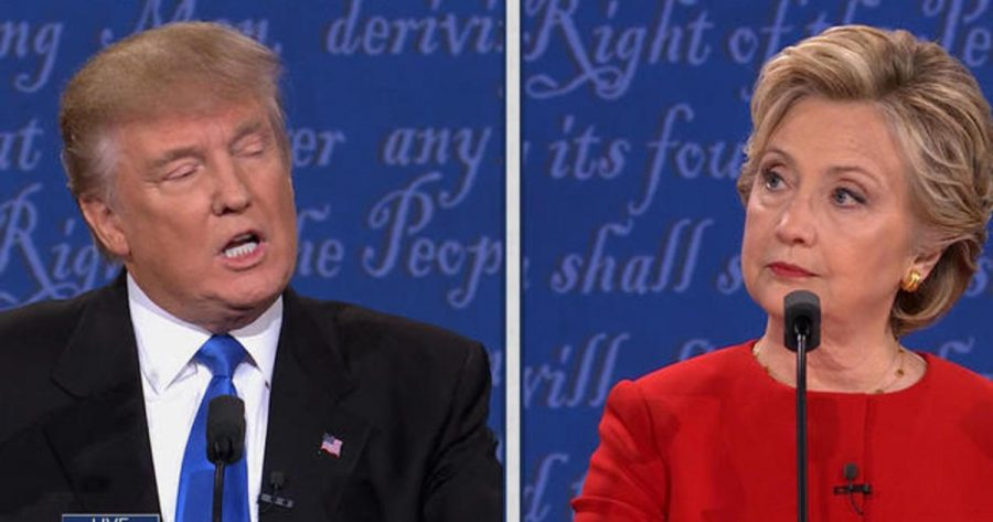 Clinton and Trump prepare to face off in the first 2016 Presidential Debate.