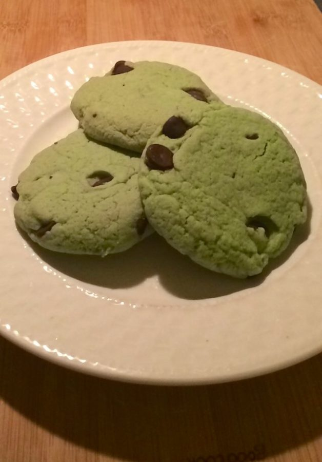 St. Patricks Day Recipe: Mint Chocolate Chip Cookies