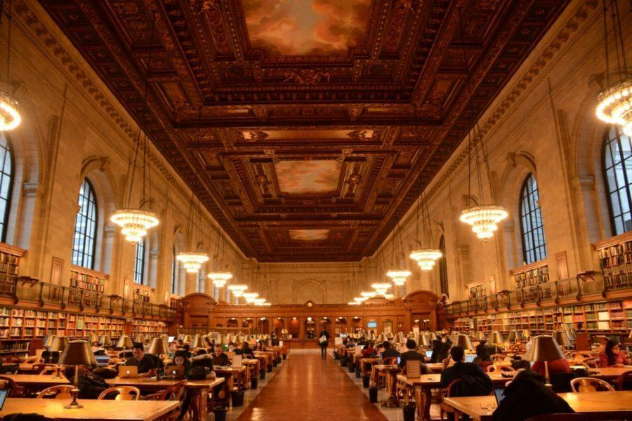 Unlock Book-lovers, architecture-lovers, and anyone else will fall in love with the New York Public Library.  With its rows and rows of ancient books, open study areas, intricate architecture, and beautiful paintings everywhere one looks, the New York Public Library has something for every NDP Senior to enjoy.