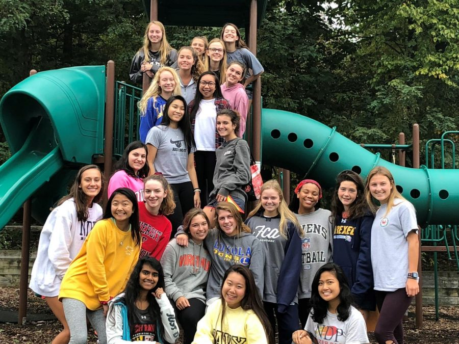 Class of 2020's Junior Retreat