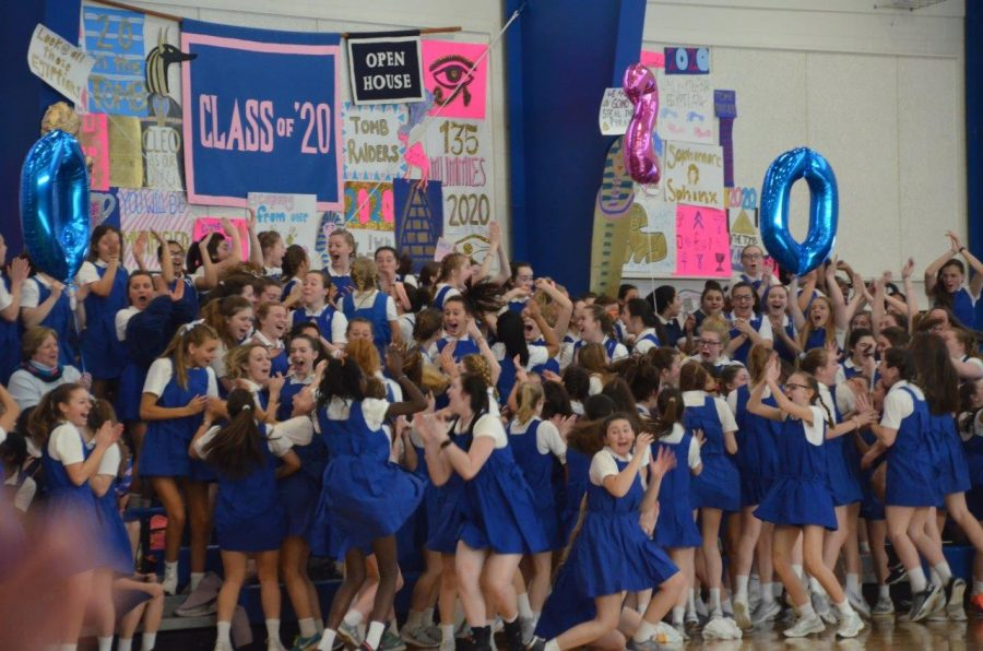 Picture from last gym meet when the current juniors won