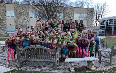 Diving into Eighth Grade Swim Show!