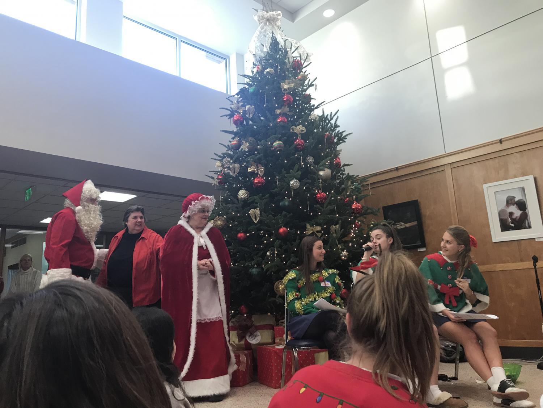 Santa and Mrs. Claus at Tree Trim
