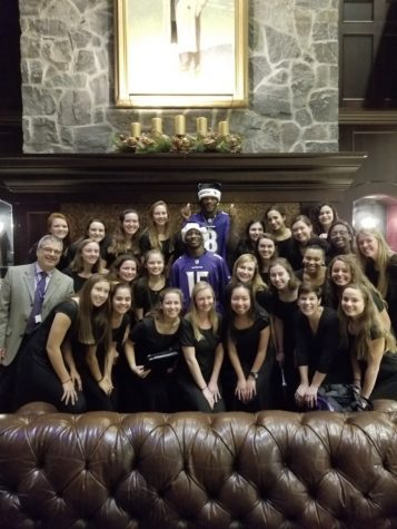 NDP Chamber Choir w/ Lamar Jackson and Hollywood Brown
