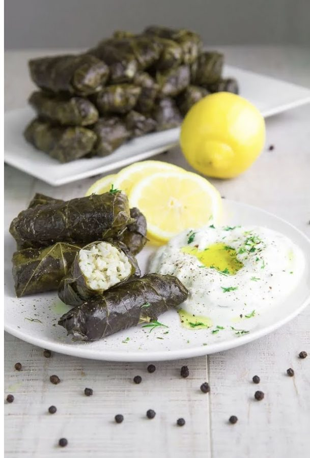 Dolmades+ready+for+Thanksgiving+dinner.