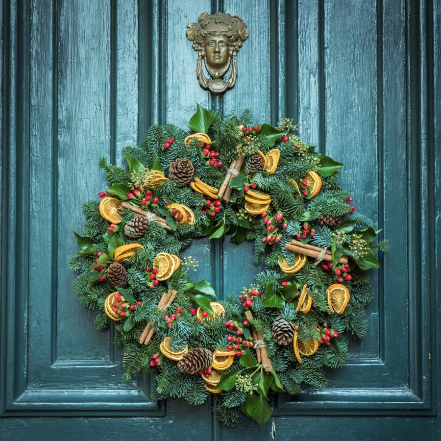Many pagan Anglo-Saxons celebrated the winter solstice by bringing in green boughs to celebrate the perseverance of life in spite of the darkness of winter.