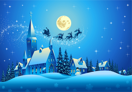 Image: Starder (https://freedesignfile.com/85567-beautiful-christmas-night-winter-vector-background-02/)