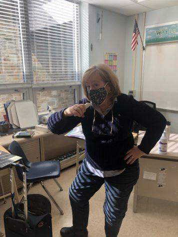 Mrs. Dohmeier in performance mode!